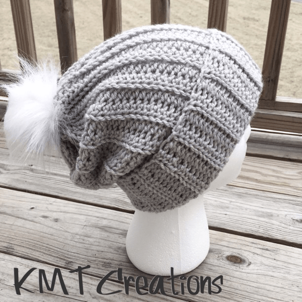 4511acce9c2 Simple and Sleek Slouch Hat - KMT CreatIons
